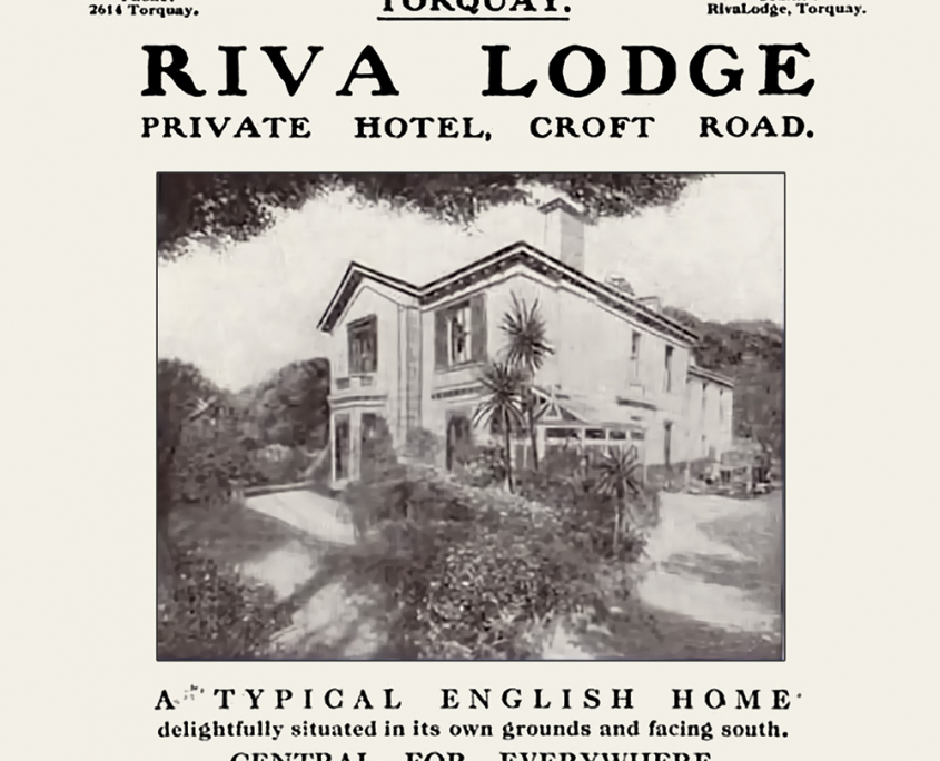 Riva Lodge promotional poster